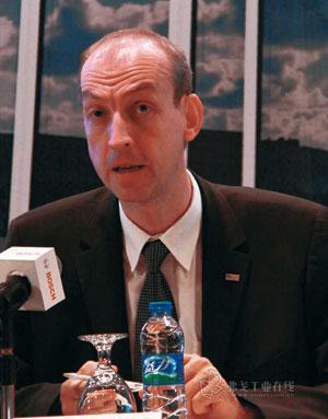 图2 联合汽车电子有限公司电力驱动业务部总经理瑞墨松博士:博世不