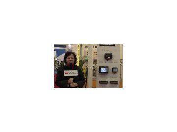 访美国邦纳工程国际有限公司的市场经理蔡卓尔女士