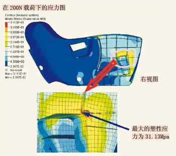基于abaqus的汽车座椅塑料件有限元分析