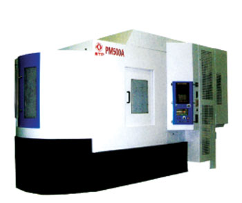东风汽车公司设备制造厂的pm500a卧式加工中心高清图片