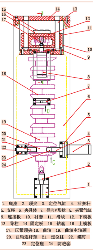 曲轴磨床外部接线图