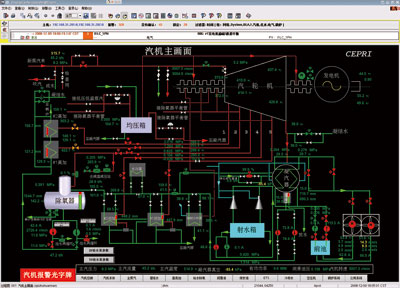 电厂锅炉汽包结构图