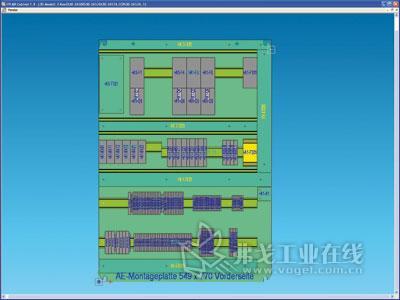 蛣2 用eplan cabinet软件在3d视图中安装电气柜的元器件