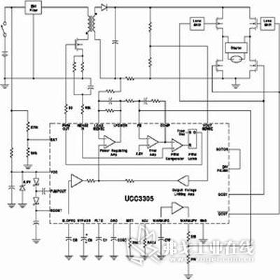 ucc2305典型应用电路