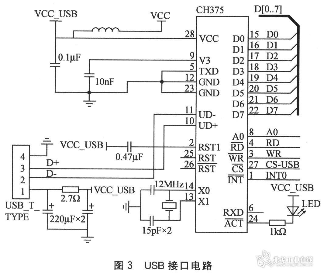 再送至集成运放lm358d前置差分电路,进一步去除干扰并有效放大,由lm35