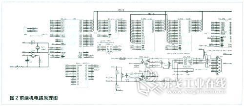 图2电路中在can控制器和pca82c250之间加入了6n137高速光耦.