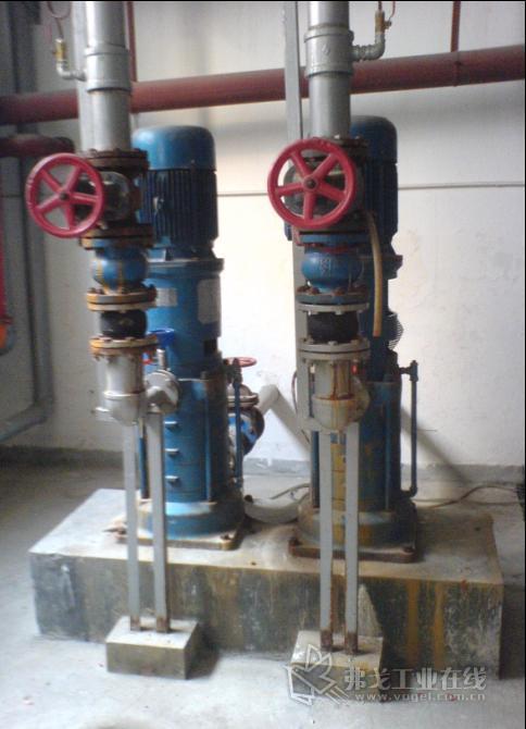 水泵中间继电器实物接线图