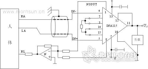 dc/dc电源模块在医用传感器电路中的应用