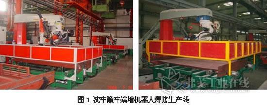 轨道车辆机器人及专机自动焊接生产线介绍