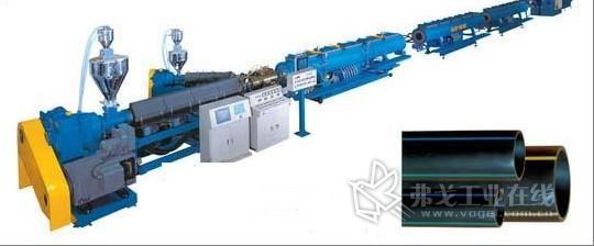 PE碳素管生产线