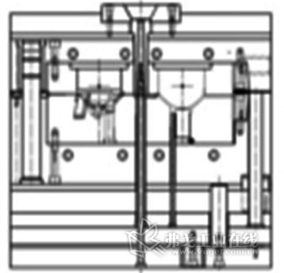 汽车反光镜注射模具设计