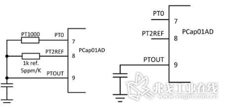 则需外接高精度温度传感器(如pt1000)来进行测量.
