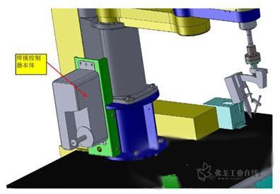众为兴scara机器人在自动焊锡行业的应用