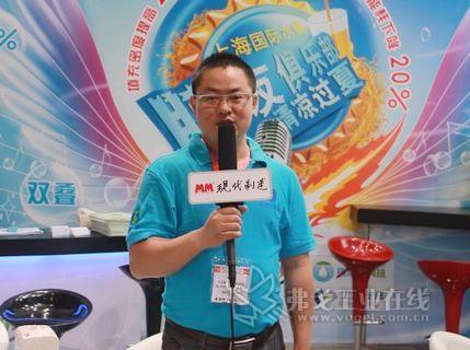 访南京瑞洁特膜分离科技有限公司执行总监及技术总监周保昌先生