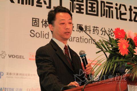访艺康集团全球副总裁白佳先生