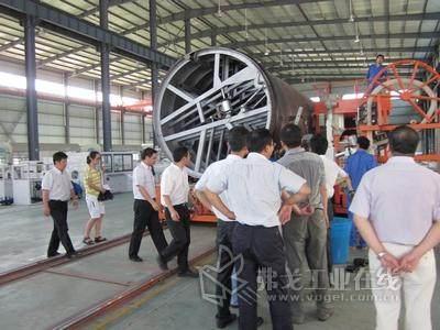 德清县委副书记、县长胡国荣率团赴双林工业园调研