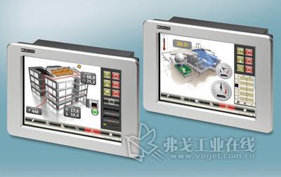 TP5000系列HMI支持多种通信协议,使用Profinet技术,实现与多种控制系统的连接