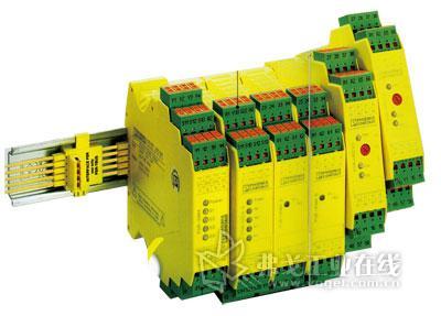 菲尼克斯电气 可实现底部桥接的PSR安全继电器系统