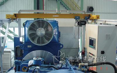 德马格DC Wind风机环链葫芦将亮相2012CeMAT展会