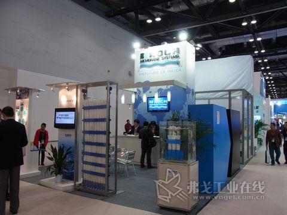 科氏滤膜公司精彩亮相WMC2012