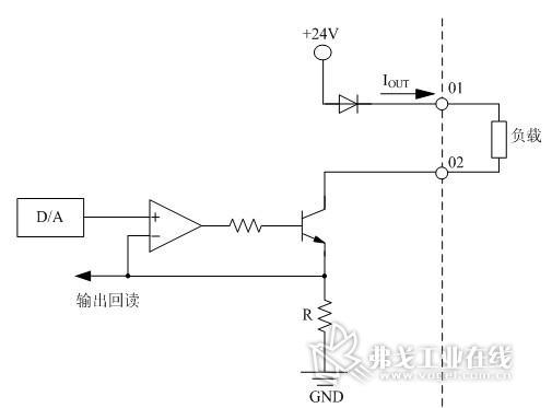 各通道接口电路与其余电路部分采用光耦隔离连接