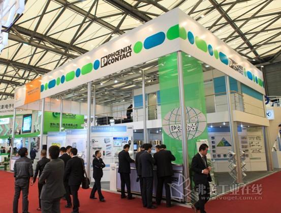 菲尼克斯电气工业自动化展展台