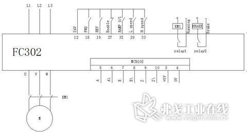 丹佛斯变频器fc302替代堆垛机sew变频器参数设定