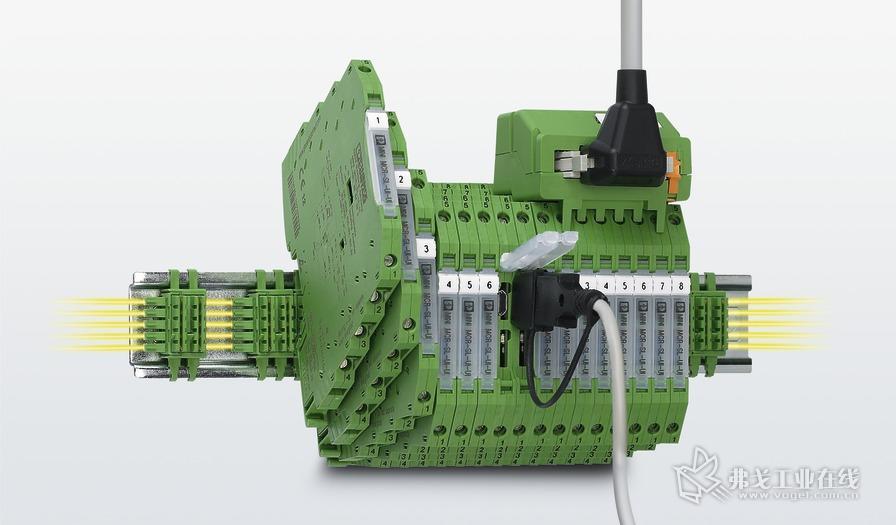 菲尼克斯电气超薄MINI Analog隔离放大器产品系列