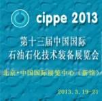 2013 cippe 石油化工装备展