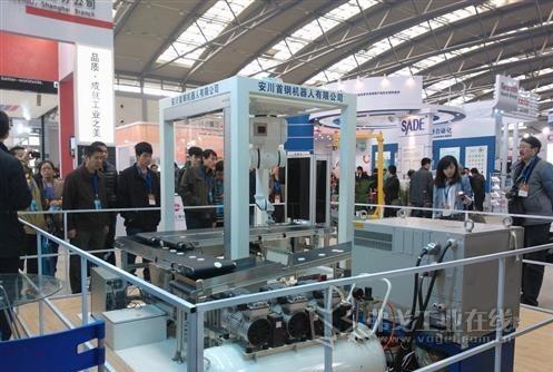 """安川首钢机器人有限公司开发的""""Motoman高速机器人视觉搬运系统"""