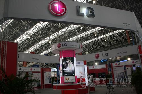 LG集团精彩参展CIE 2013