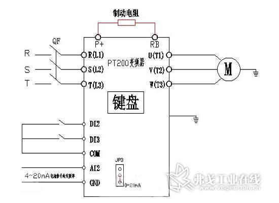 欧科变频器在针织大圆机上的应用