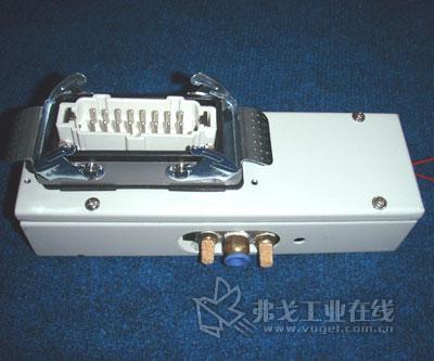 电磁阀接线盒