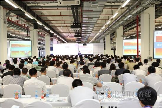 2013年菲尼克斯电气创新与行业发展论坛现场
