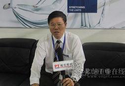CHINAPLAS 2013 布鲁克纳远东有限公司高级工程师周厚松先生