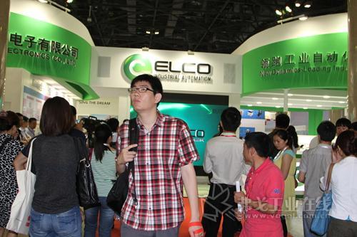 宜科电子亮相IA BEIJING 2013