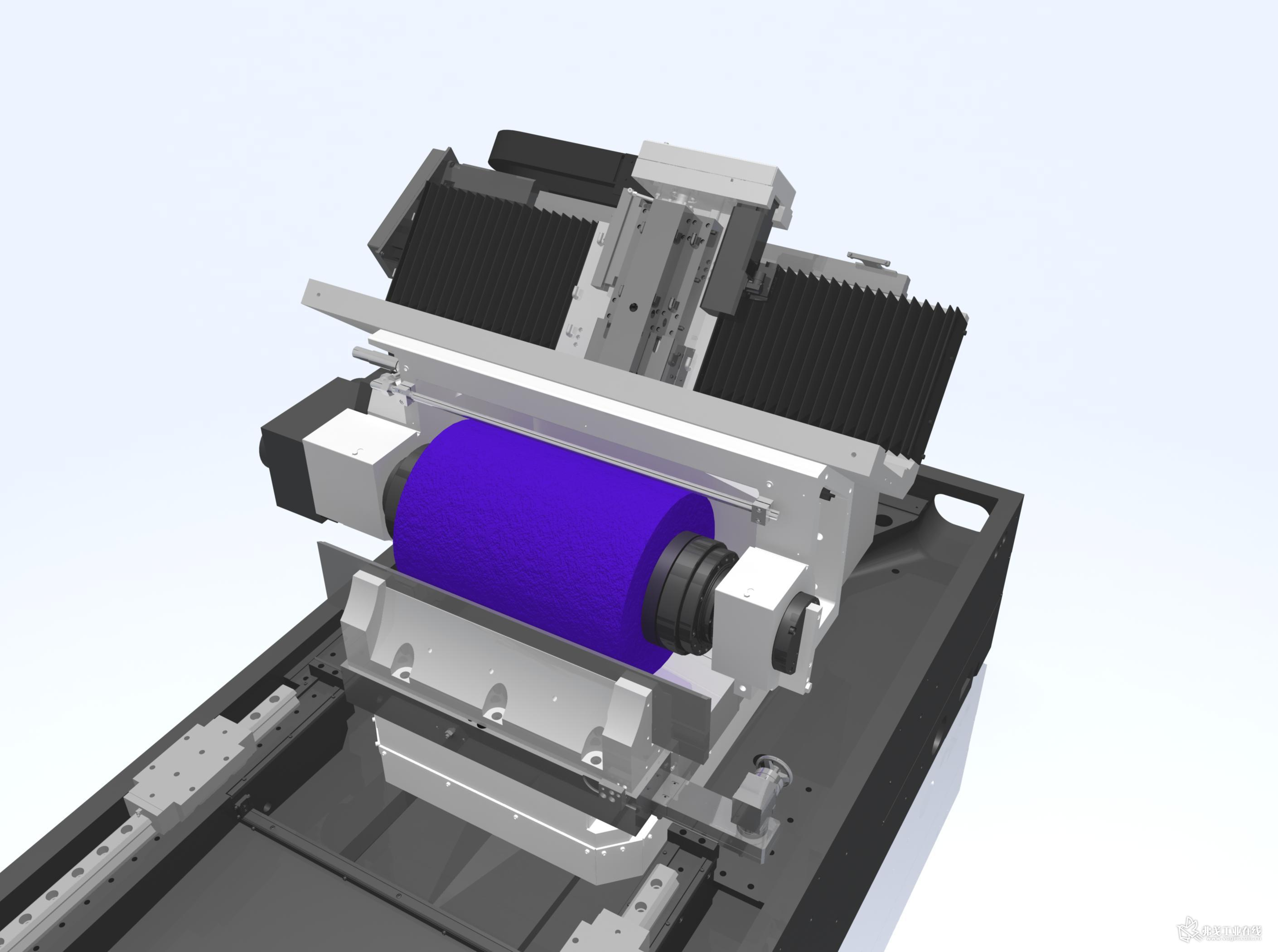 L 550 无心磨床: 工件最大加工长度为545 mm。此前,只有KRONOS L660能够加工约400 mm至480 mm长的中型零件,然而,组件的砂轮最大宽度却过大。, Otto 解释道。另一方面, KRONOS L 550 配有理想的砂轮宽度和功率为40 kW的小电机. 这是整个成本中最显著的优势。 此外,该机床的设计是基于大机床的技术质量。它的GRANITAN 床身是极其稳定和防震,从而确保了机床的磨削精度。由伺服驱动,通过预拉伸和消除反向间隙的滚珠丝杠,实现两个滑板的进给。全闭环反馈系统