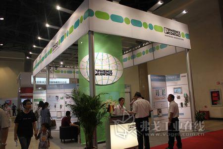 菲尼克斯电气参加了北京国际工业智能及自动化展览会