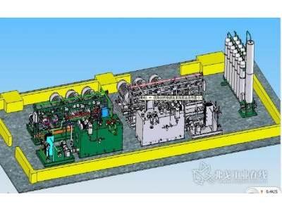 迈克液压1780立高炉炉前液压系统泵站总图