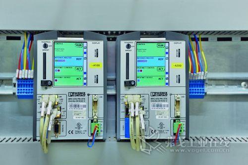 备有两台RFC470PN 3TX控制器的冗余控制理念 ——控制系统的基石