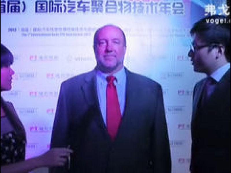 埃克森美孚化工特殊聚合物亚太区高级技术顾问 麦纳睿先生