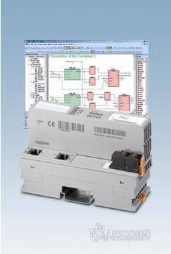 图 1 Axiocontrol控制器仍采用统一的编程软件: PC Worx