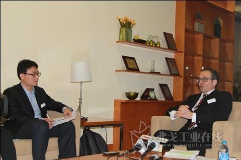 2013 PTC ASIA 德国汉诺威展览公司高级副总裁裴喜专访