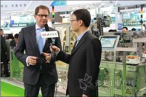 2013 PTC ASIA 西门子执行副总裁吴和乐博士专访