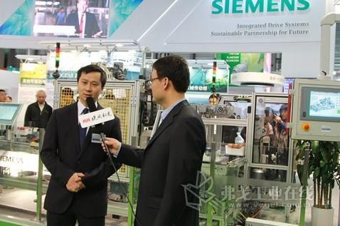 2013 PTC ASIA 西门子总经理李雷专访