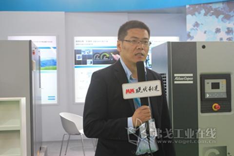 2013 PTC ASIA访阿特拉斯.科普柯贸易丁永钢先生