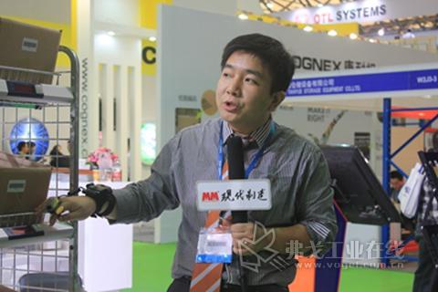 2013 CeMAT ASIA访英腾物流范成先生