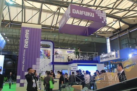 大福DAIFUKU公司盛装亮相2013CeMAT亚洲国际物流展