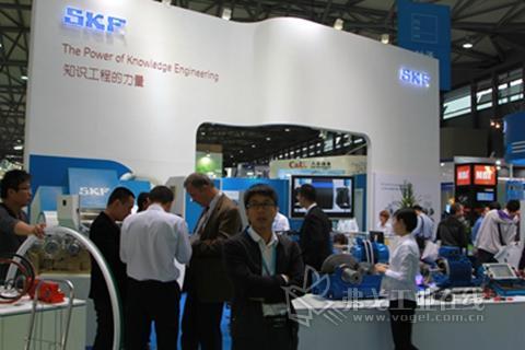 SKF亮相2013亚洲国际动力传动展