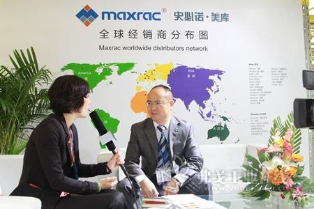 2013 CeMAT ASIA访上海史必诺·美库总经理孙昌翰先生